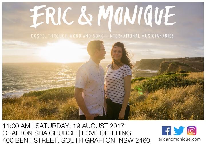 Eric & Monique @ Grafton Seventh-day Adventist Church - Grafton, Australia
