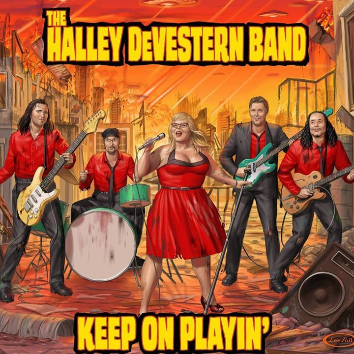 THE HALLEY DEVESTERN BAND Tour Dates