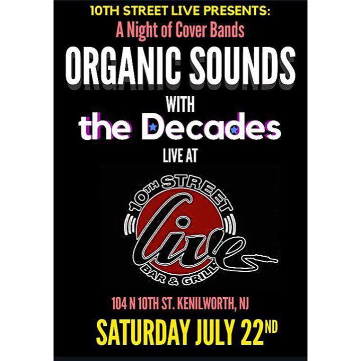Organic Sounds Tour Dates