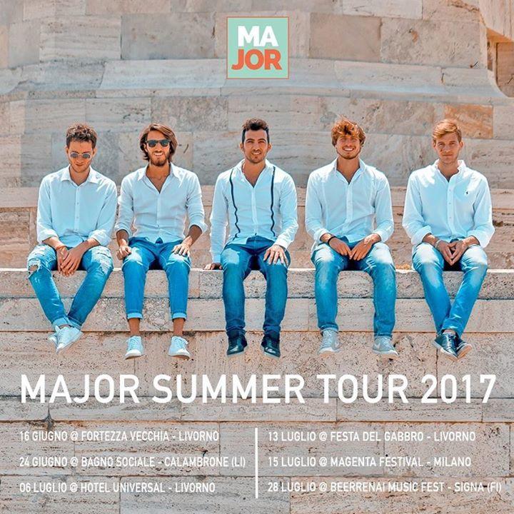 Major Tour Dates