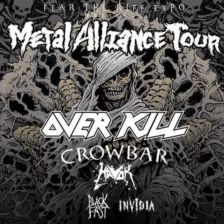 Metal Alliance Tour Tour Dates