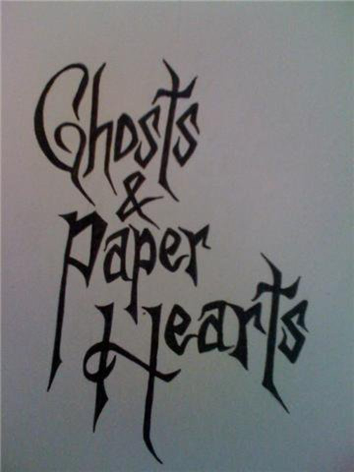 Ghosts and Paper Hearts Tour Dates