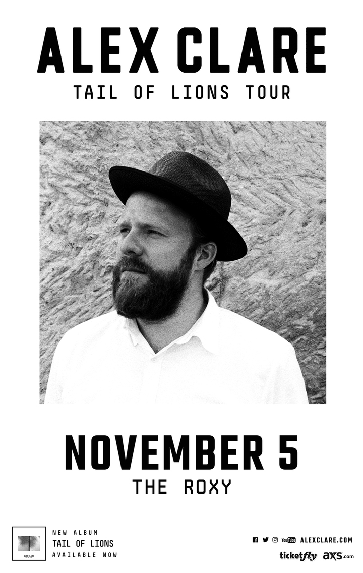 Alex Clare @ The Roxy Theatre - West Hollywood, CA
