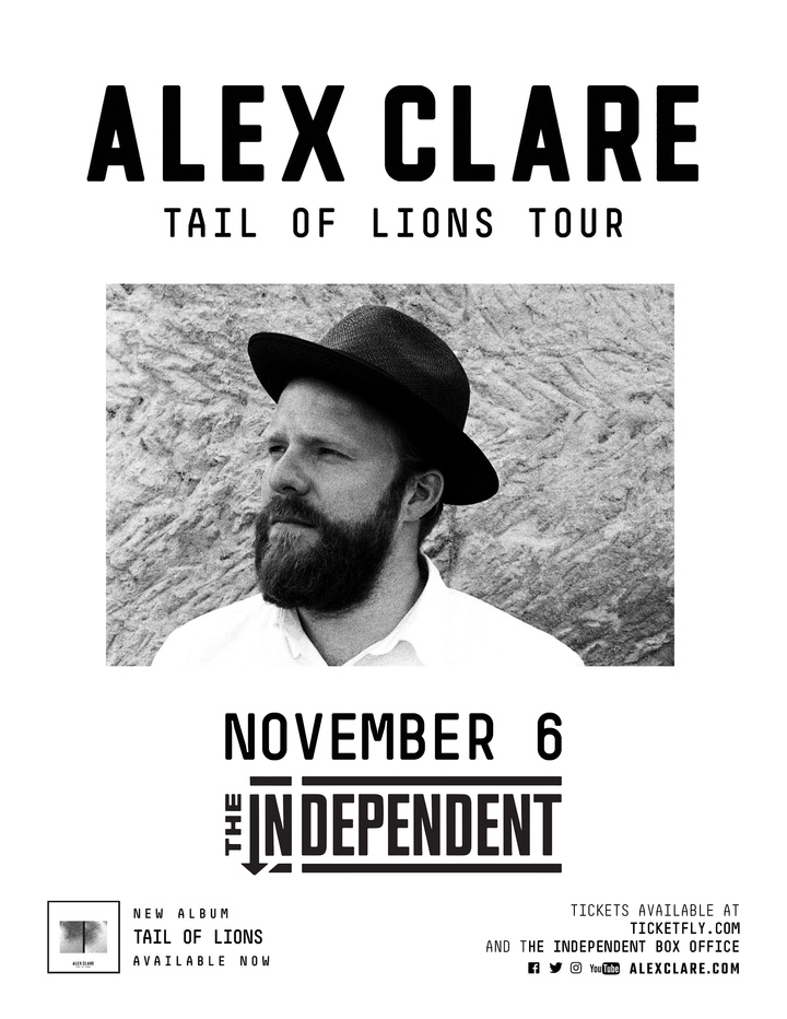 Alex Clare @ The Independent - San Francisco, CA