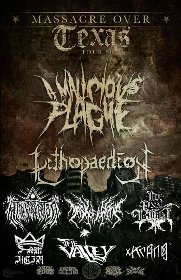 The Final Burial Tour Dates