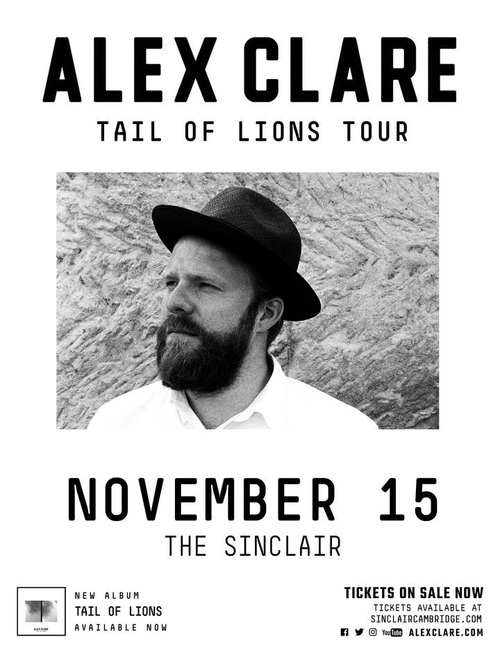 Alex Clare @ The Sinclair - Cambridge, MA