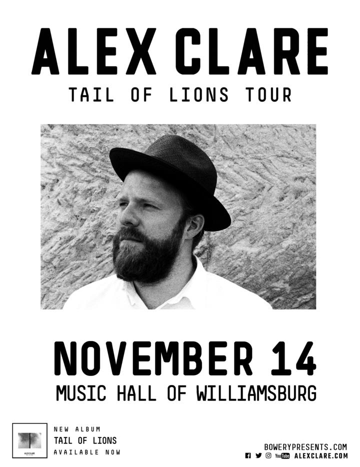 Alex Clare @ Music Hall of Williamsburg - Brooklyn, NY