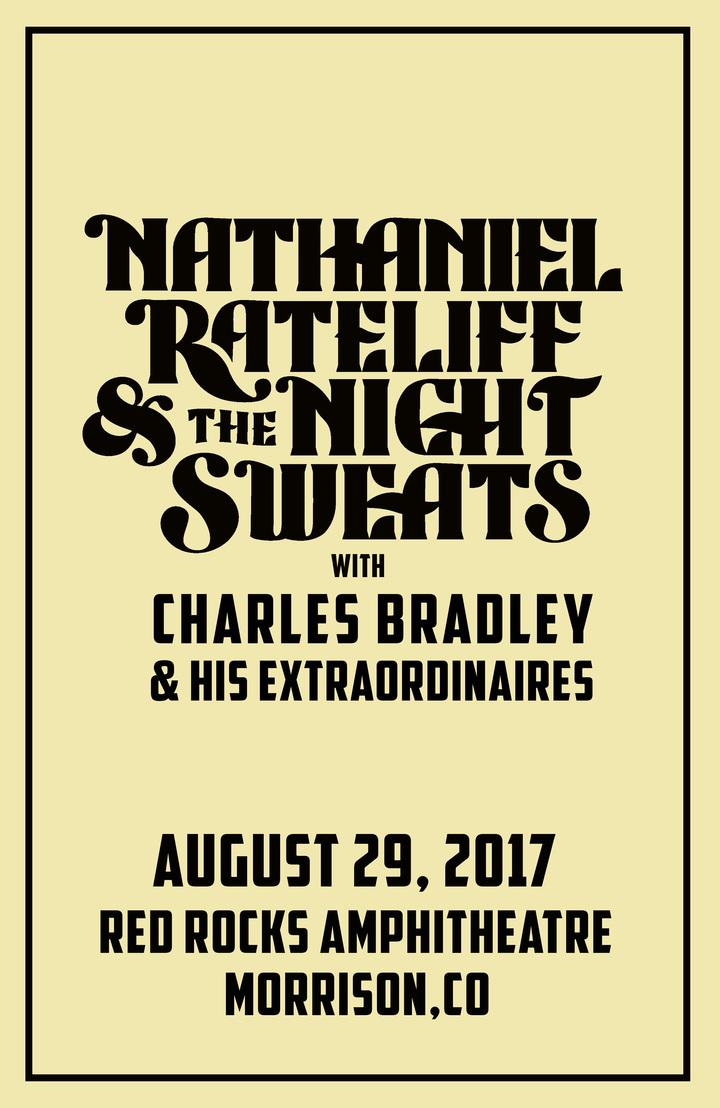 Charles Bradley @ Red Rocks Amphitheatre - Morrison, CO
