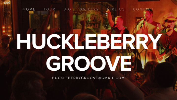 Huckleberry Groove Tour Dates