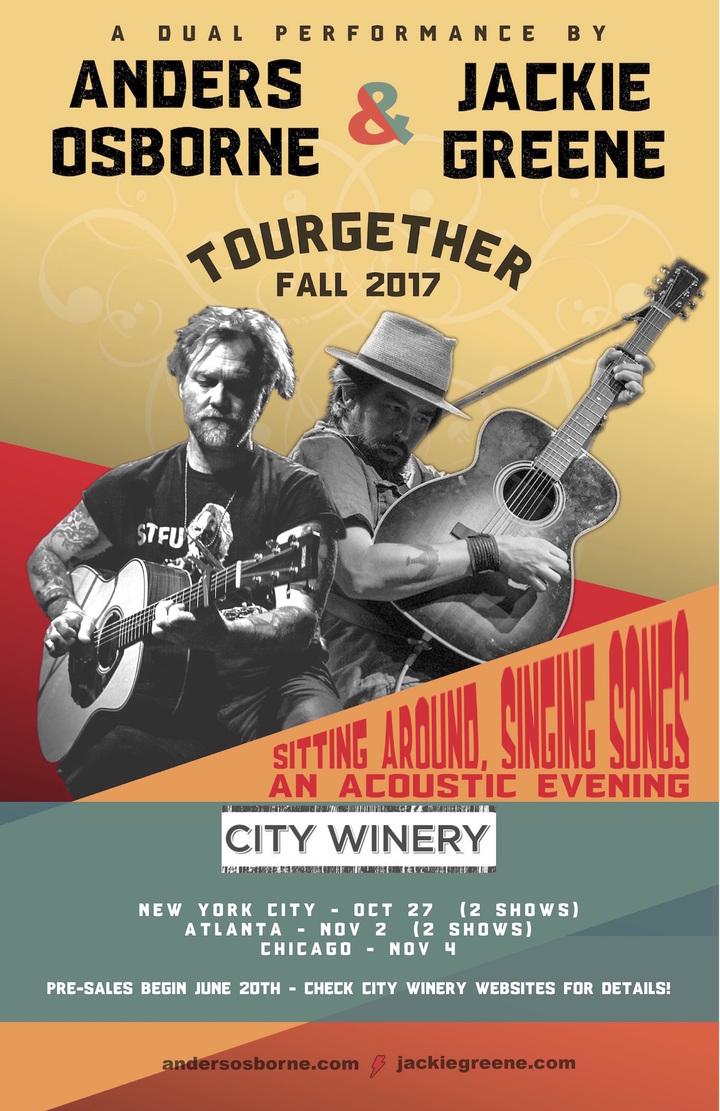 Jackie Greene @ City Winery - Atlanta, GA