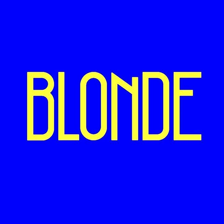 Blonde Tour Dates