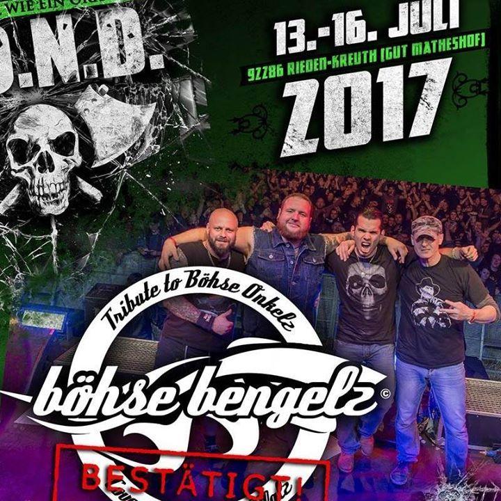 Böhse Bengelz - Onkelzcover aus der Pfalz Tour Dates