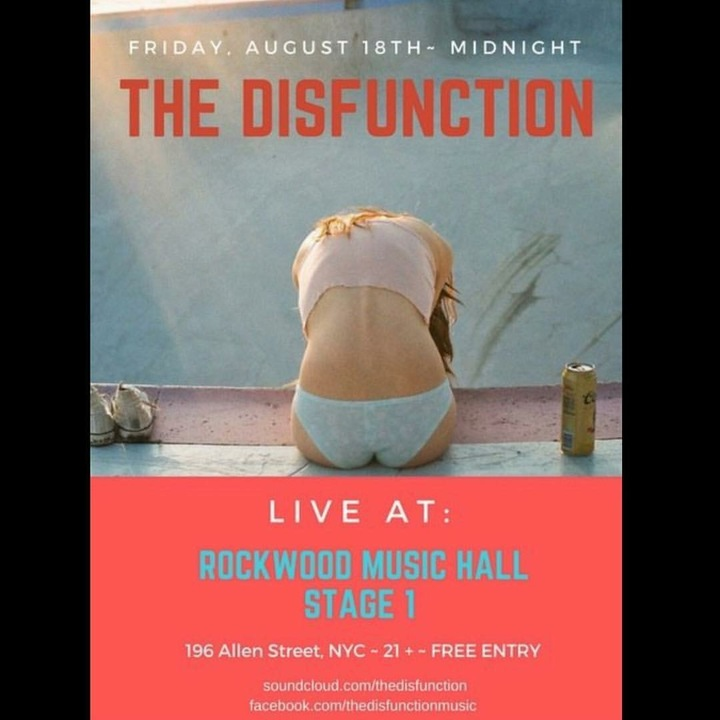 The Disfunction @ Rockwood Music Hall Stage 1 - New York, NY