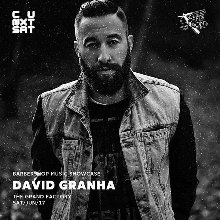 David Granha @ LA SOUTE - Chambery, France