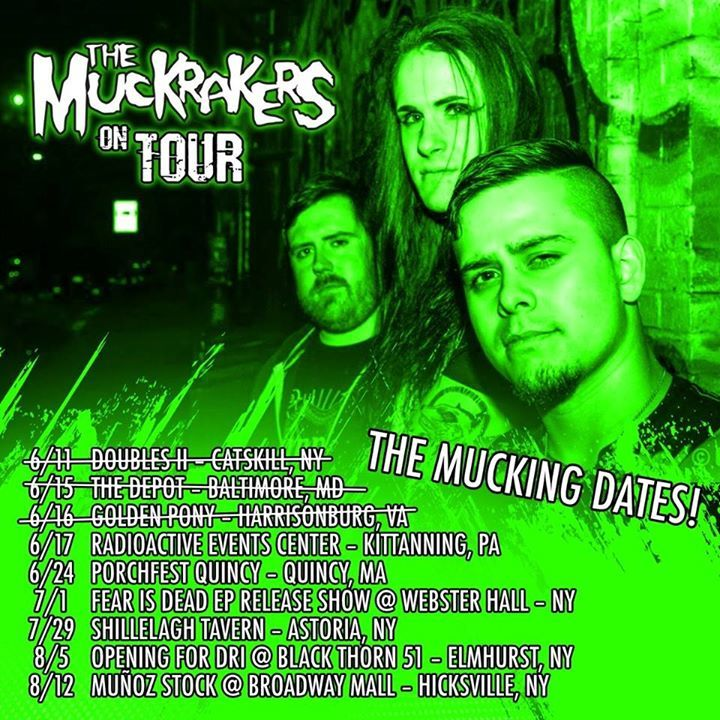 The Muckrakers Tour Dates