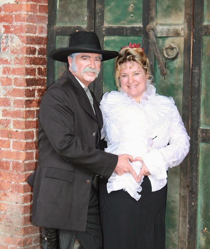 Clint and Ila @ Silver Queen Hotel  - Virginia City, NV