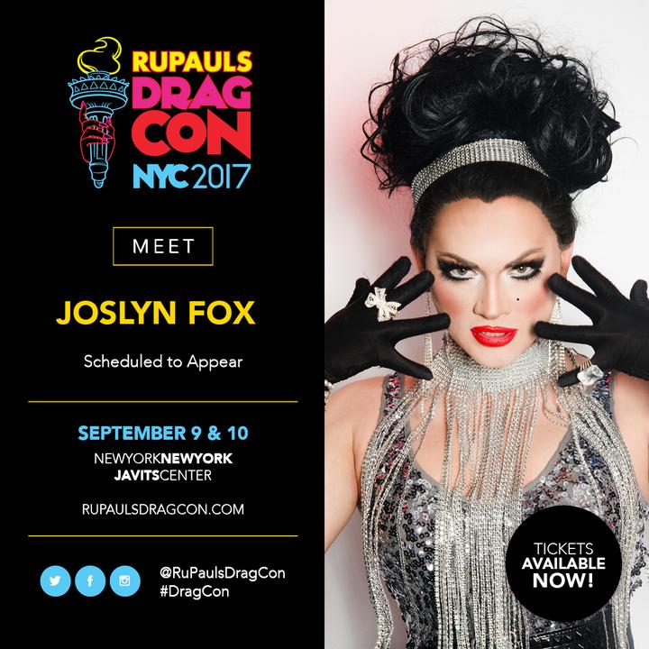 Joslyn Fox @ Jacob Javits Center - New York, NY
