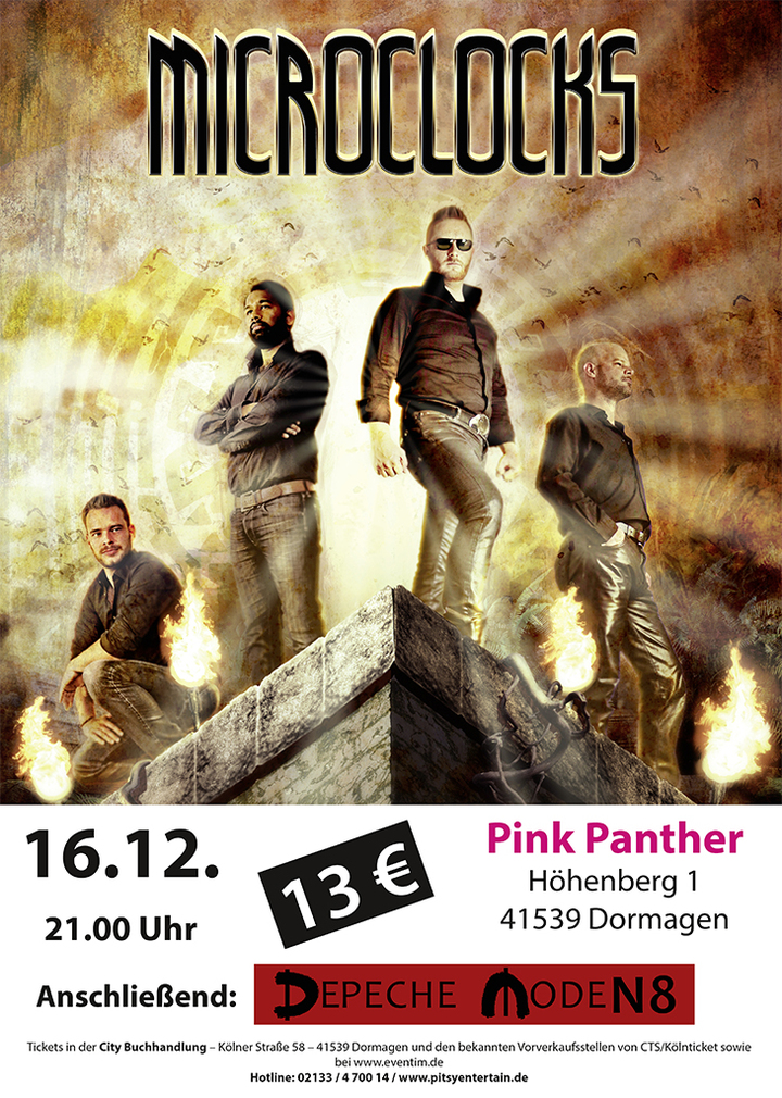microClocks @ Pink Panther - Dormagen, Germany