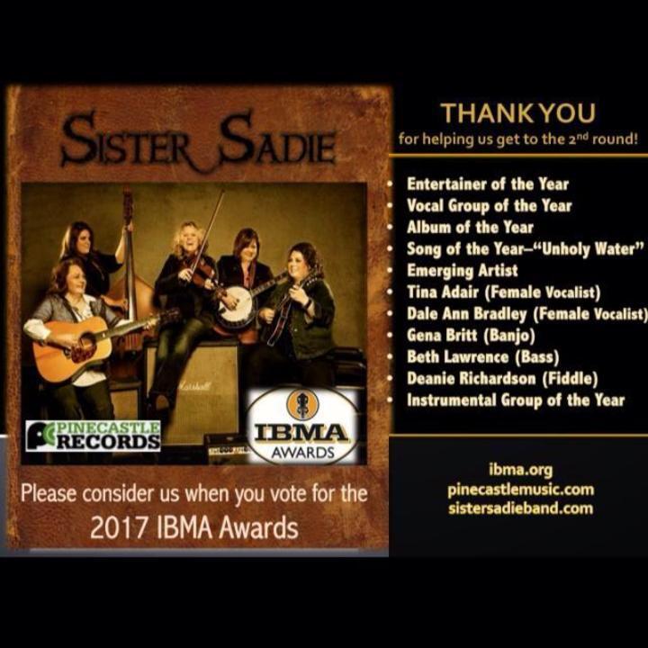Sister Sadie Tour Dates
