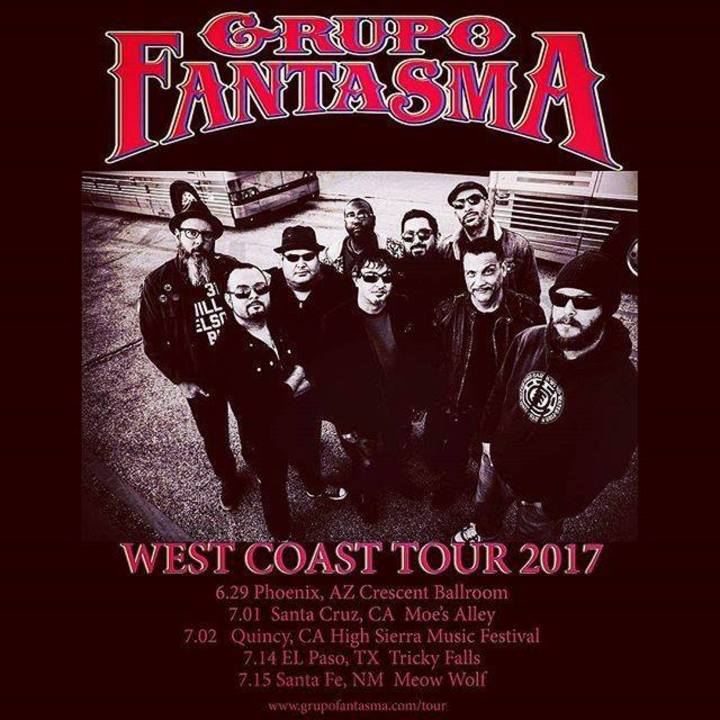Grupo Fantasma Tour Dates