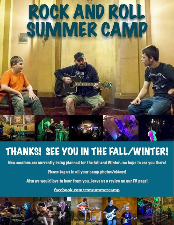 Rock And Roll Summer Camp Tour Dates