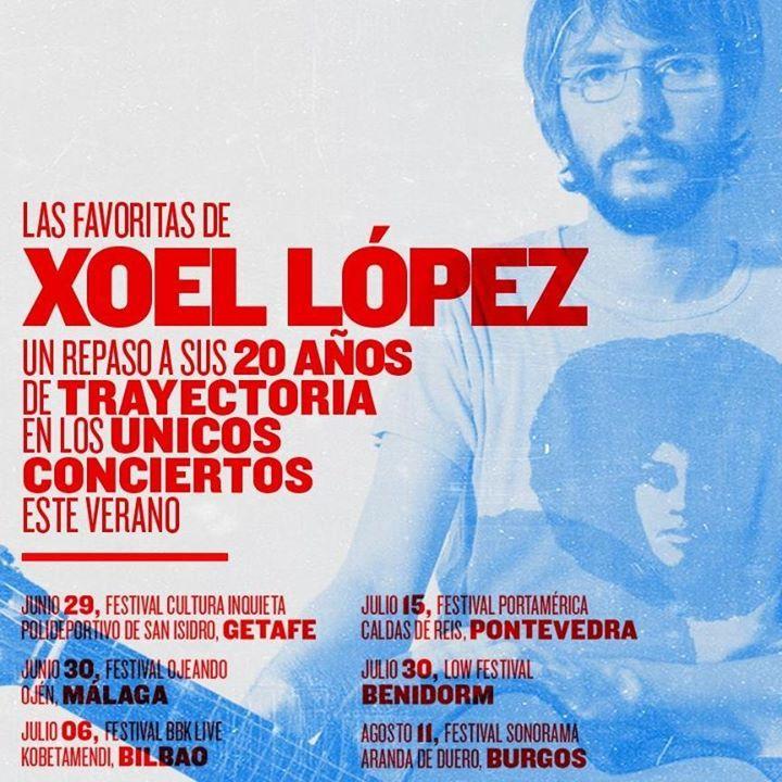 Xoel López Tour Dates