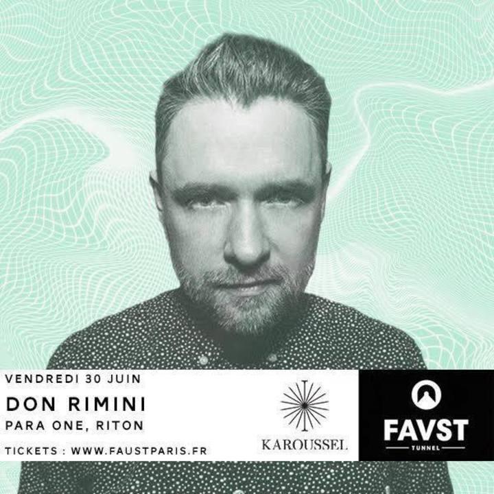 Don Rimini Tour Dates