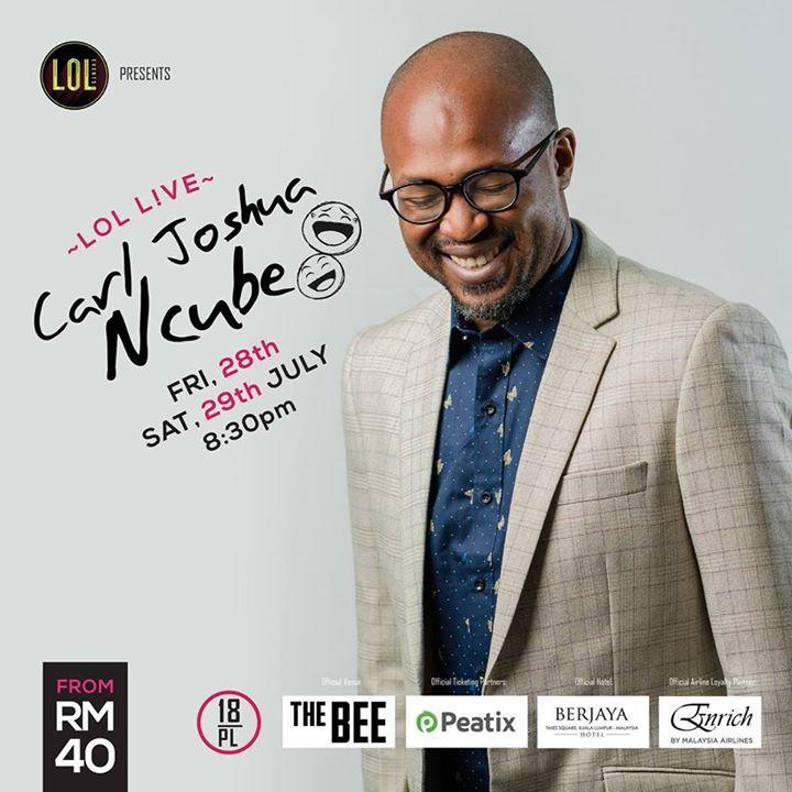 Carl Joshua Ncube @ Goliath Comedy Club  - Johannesburg, South Africa