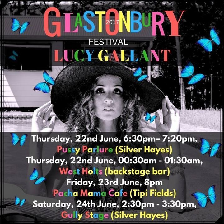 Lucy Gallant Tour Dates