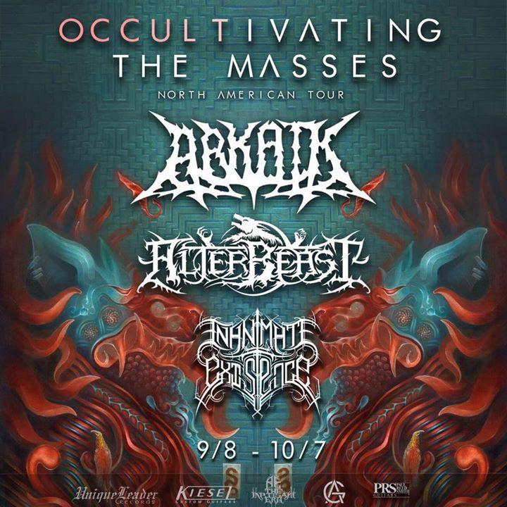 Alterbeast Tour Dates
