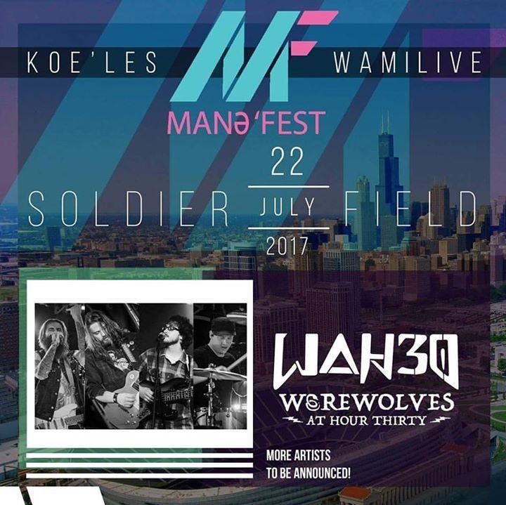 WAH30 Tour Dates
