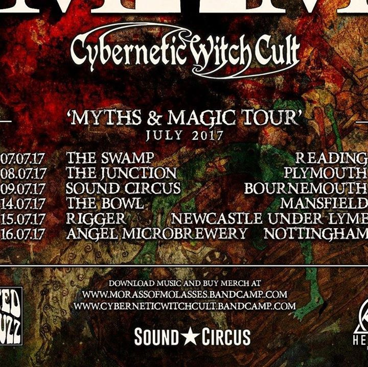 Cybernetic Witch Cult Tour Dates