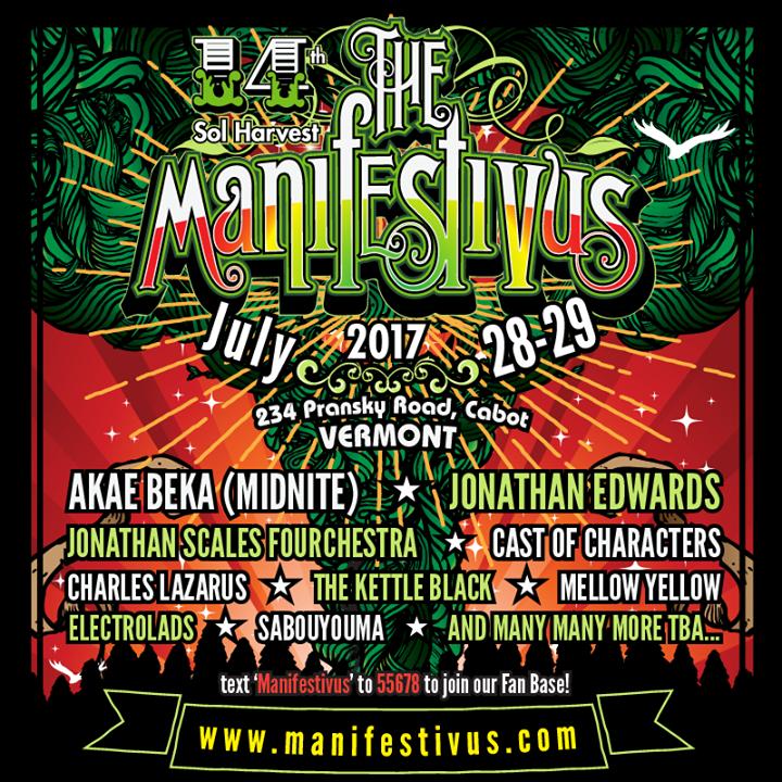 The Manifestivus Tour Dates