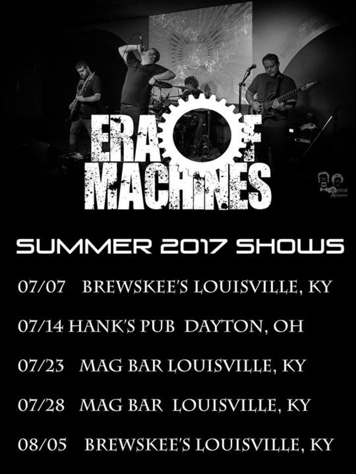 Era of Machines Tour Dates
