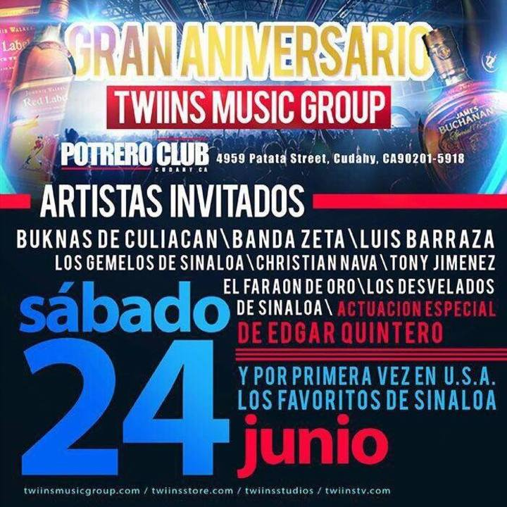 BuKnas de Culiacan Tour Dates