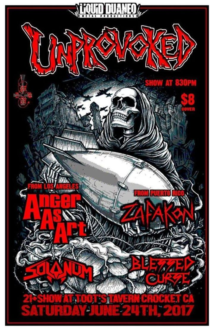 Blessed Curse Tour Dates