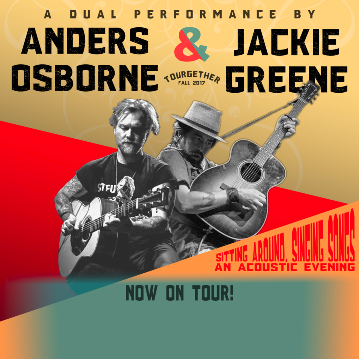 Anders Osborne @ City Winery (Anders Osborne & Jackie Greene) Show 2 - New York, NY