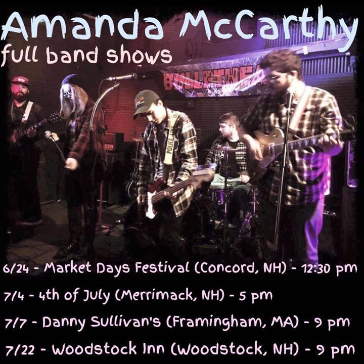Amanda McCarthy @ The Homestead Restaurant - Merrimack, NH
