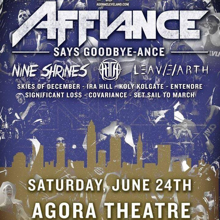 AFFIANCE Tour Dates