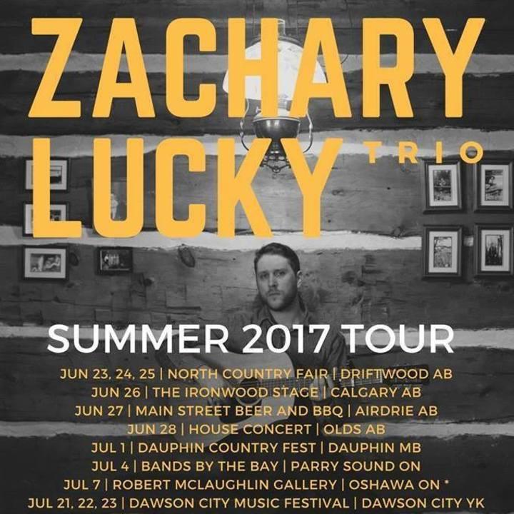 Zachary Lucky @ Moonshine Cafe - Oakville, Canada