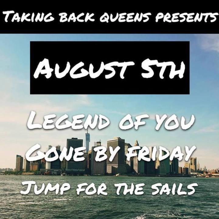 Legend Of You Tour Dates