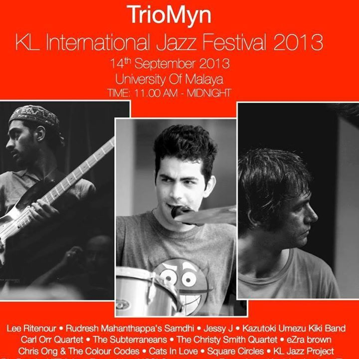 Triomyn project Tour Dates
