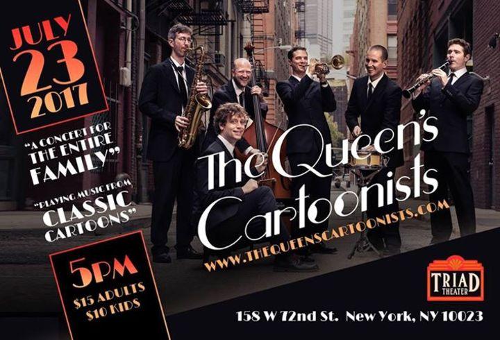 The Queens Cartoonists Tour Dates