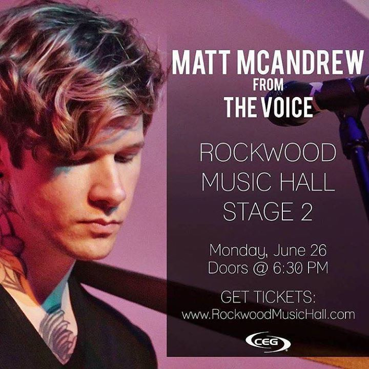 Matt McAndrew Tour Dates