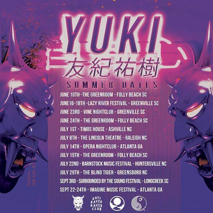 YUKI Tour Dates