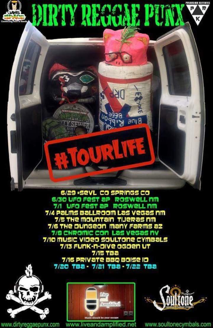 Dirty Reggae Punx Tour Dates