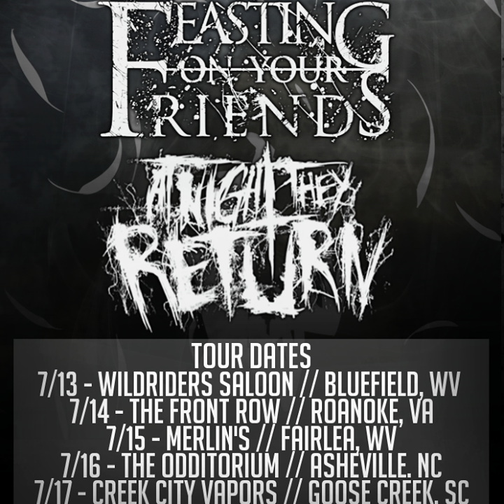 At Night They Return Tour Dates
