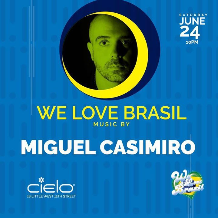DJ Miguel Casimiro Tour Dates