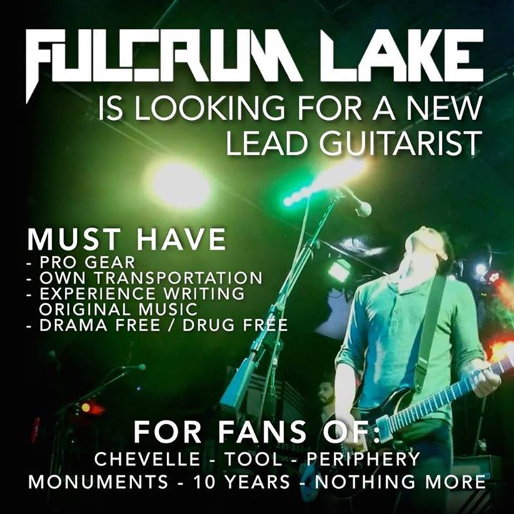 Fulcrum Lake Tour Dates