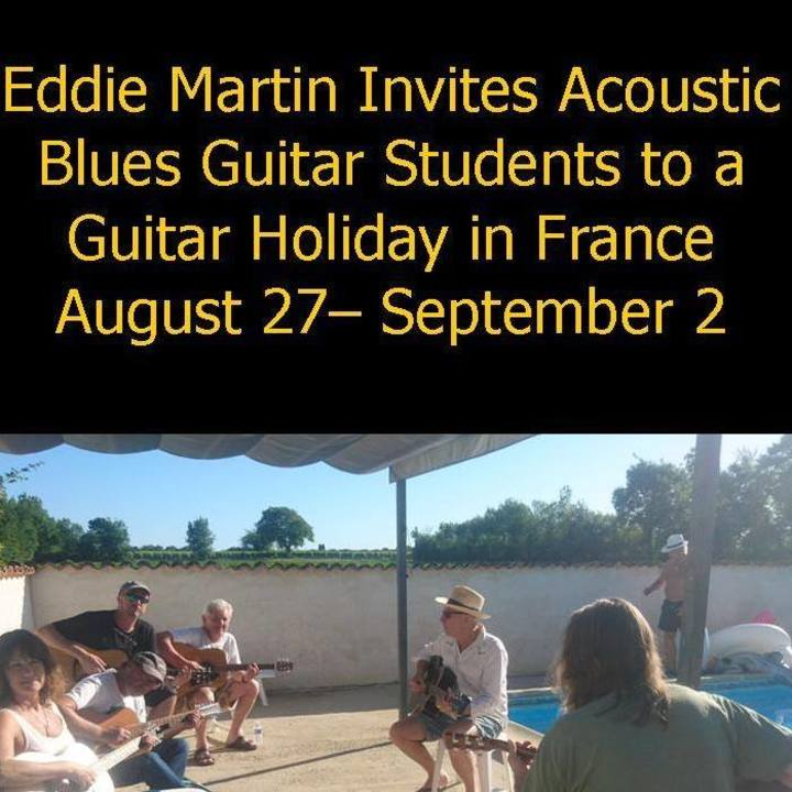 Eddie Martin Tour Dates
